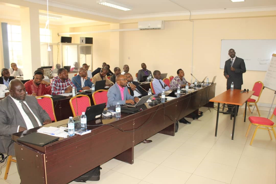 LEAF II Project conducting a training for participants from both Uganda and DR Congo at the Water Resources Institute.