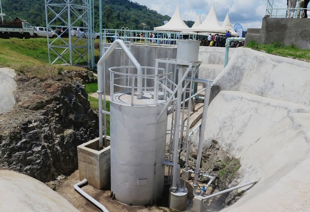 During the commissioning of Bukwo Gravity Flow Scheme