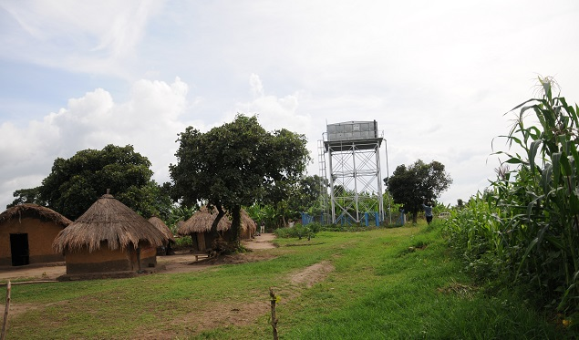 Kanyampanga LGFS Water Reservior in Kihiihi, Kanungu District