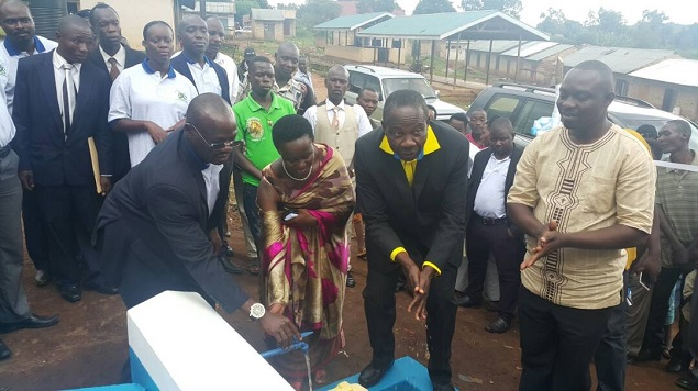 Technical Commissioning of Nyamarunda WSS in Kibaale District